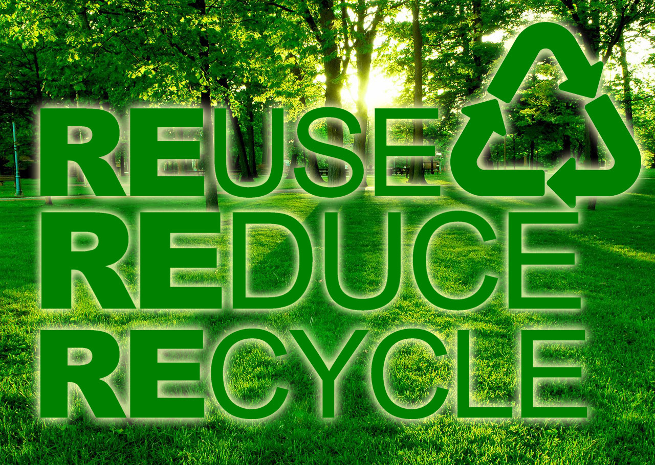 Sustainable Future With Three Rs